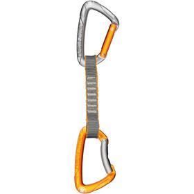 Skylotec Flint Express STD - Cintas expréss - 11cm 6 Pieces naranja/Plateado
